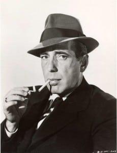 Bogart, fumando como siempre