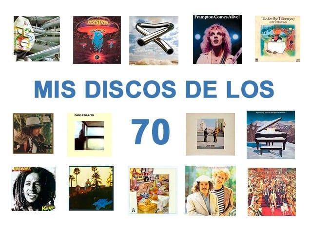 Mis discos de los 70