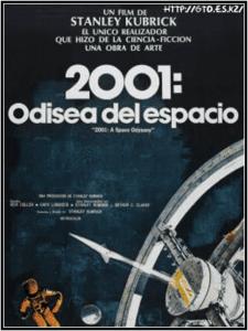 Cartel de 2001 Una odisea del espacio