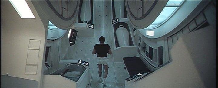 Interior del corredor centrífugo