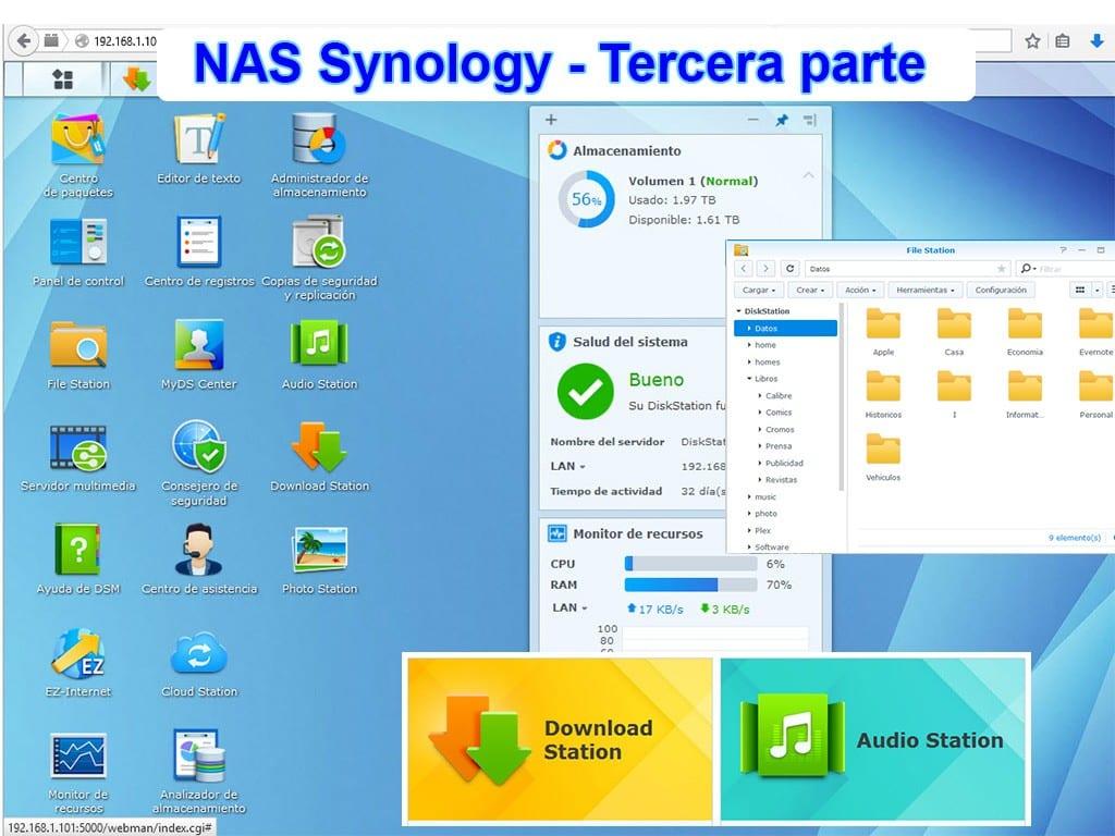NAS Synology – Un servidor familiar (Tercera parte)