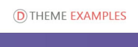 Theme Examples