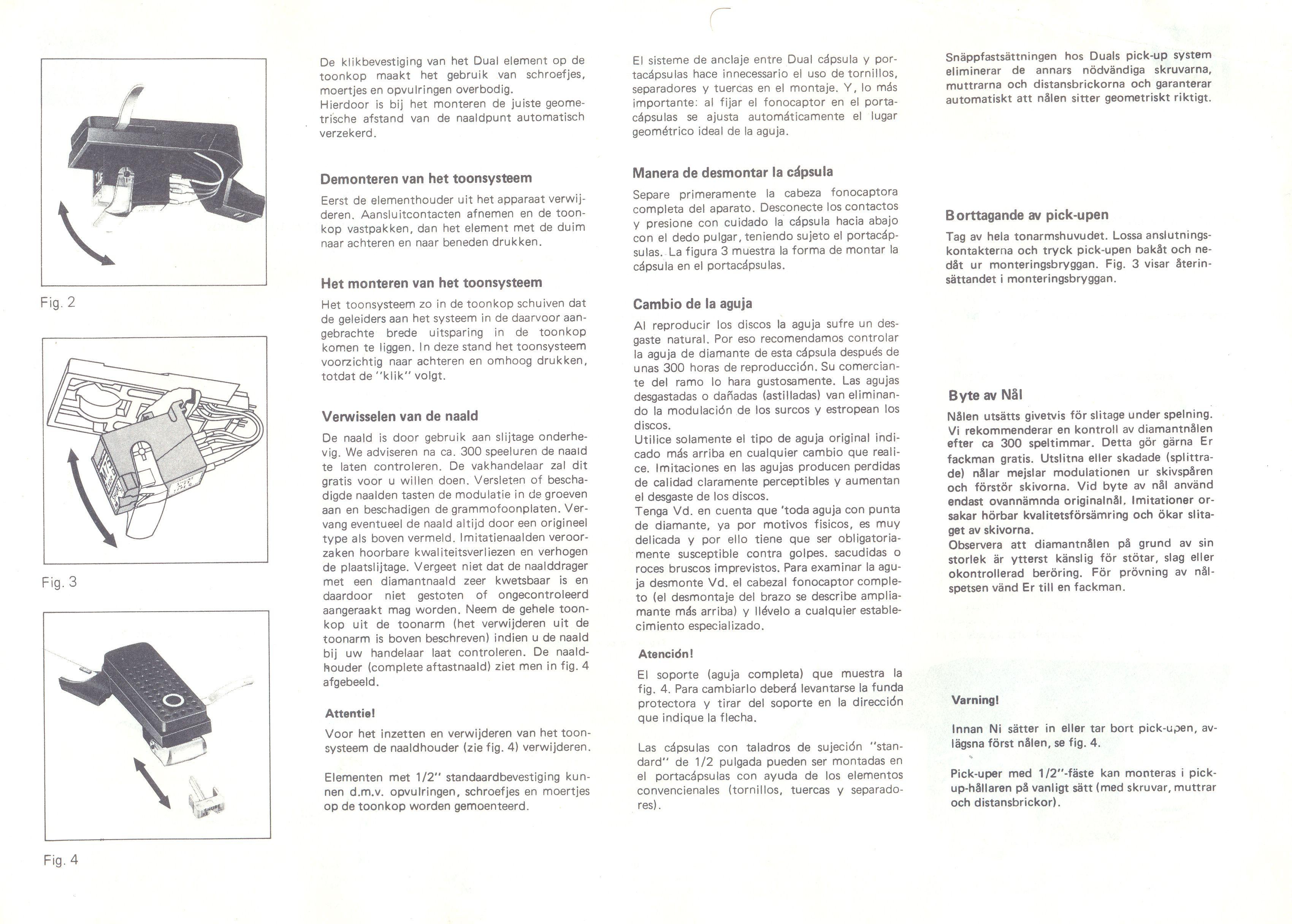 Grundig Studio 3010 - Capsula