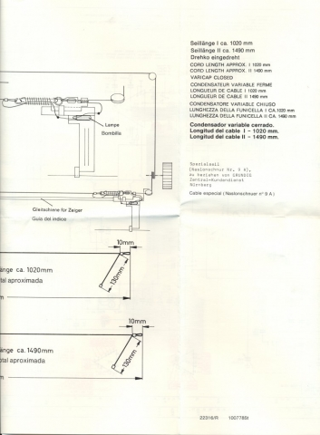 Grundig Studio 3010 - Condensador variable 02