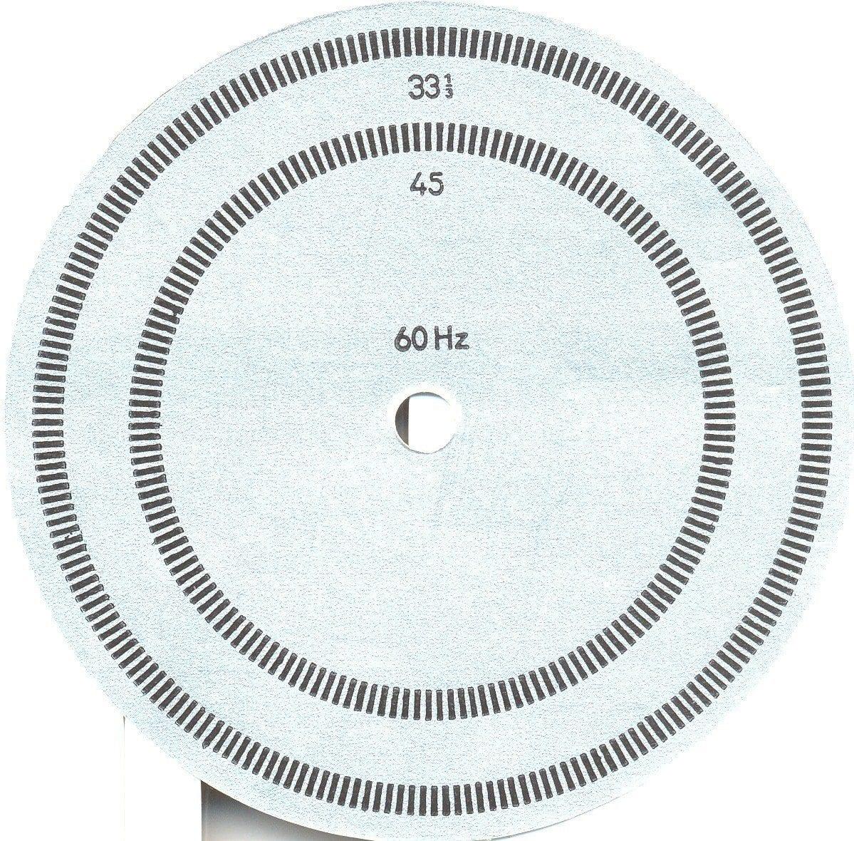 Grundig Studio 3010 - Disco estroboscópico