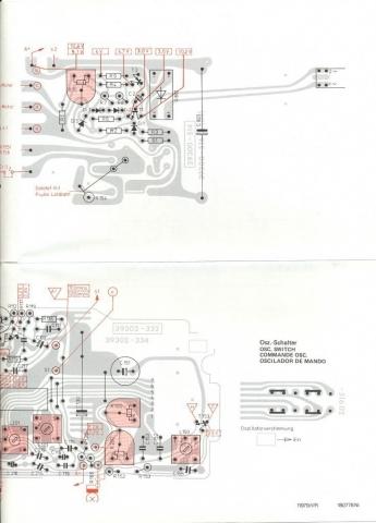 Grundig Studio 3010 - placas