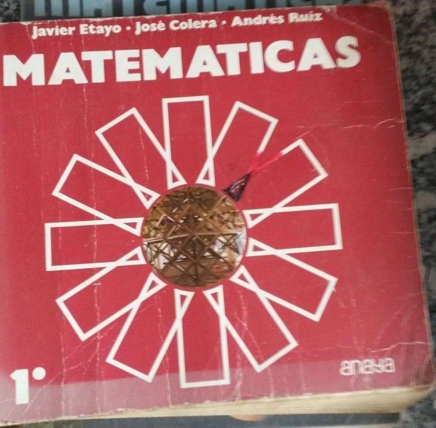 Matemáticas - Anaya