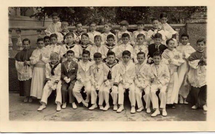 Foto Primera Comunión - 1957 - Colegio San Antonio de Padua