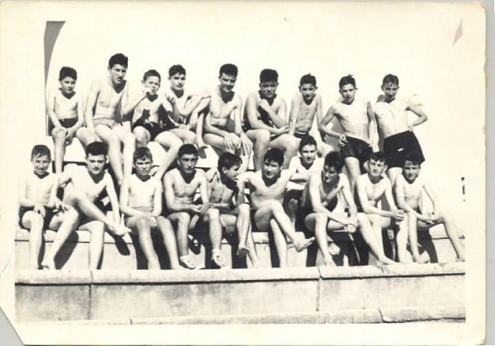 1961 - En la Ciudad Deportiva