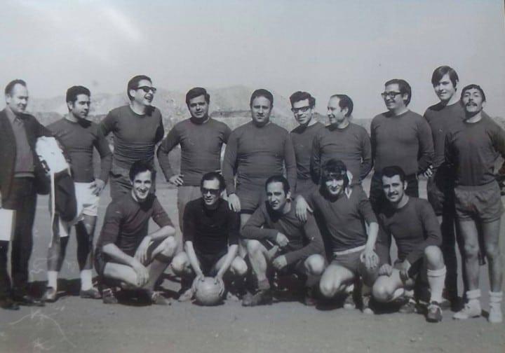 1972 - Equipo de fútbol empleados, profesores y frailes