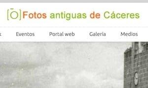Fotos antiguas de Cáceres