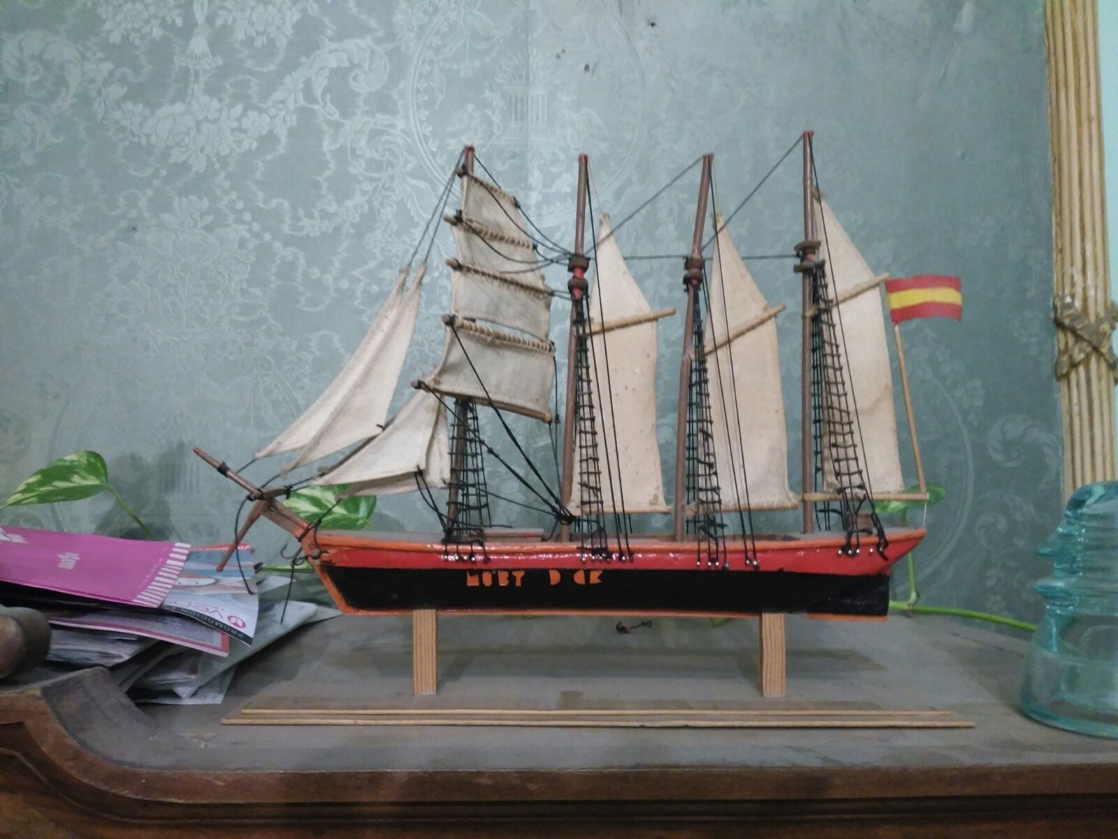 Barco hecho por Pablo Vivas White