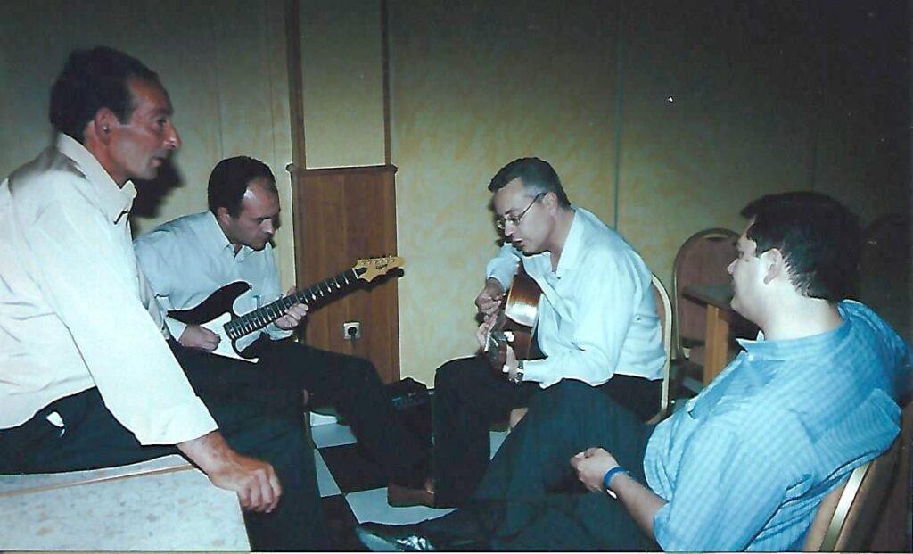 2001 - Reunión alumnos Colegio San Antonio Caceres