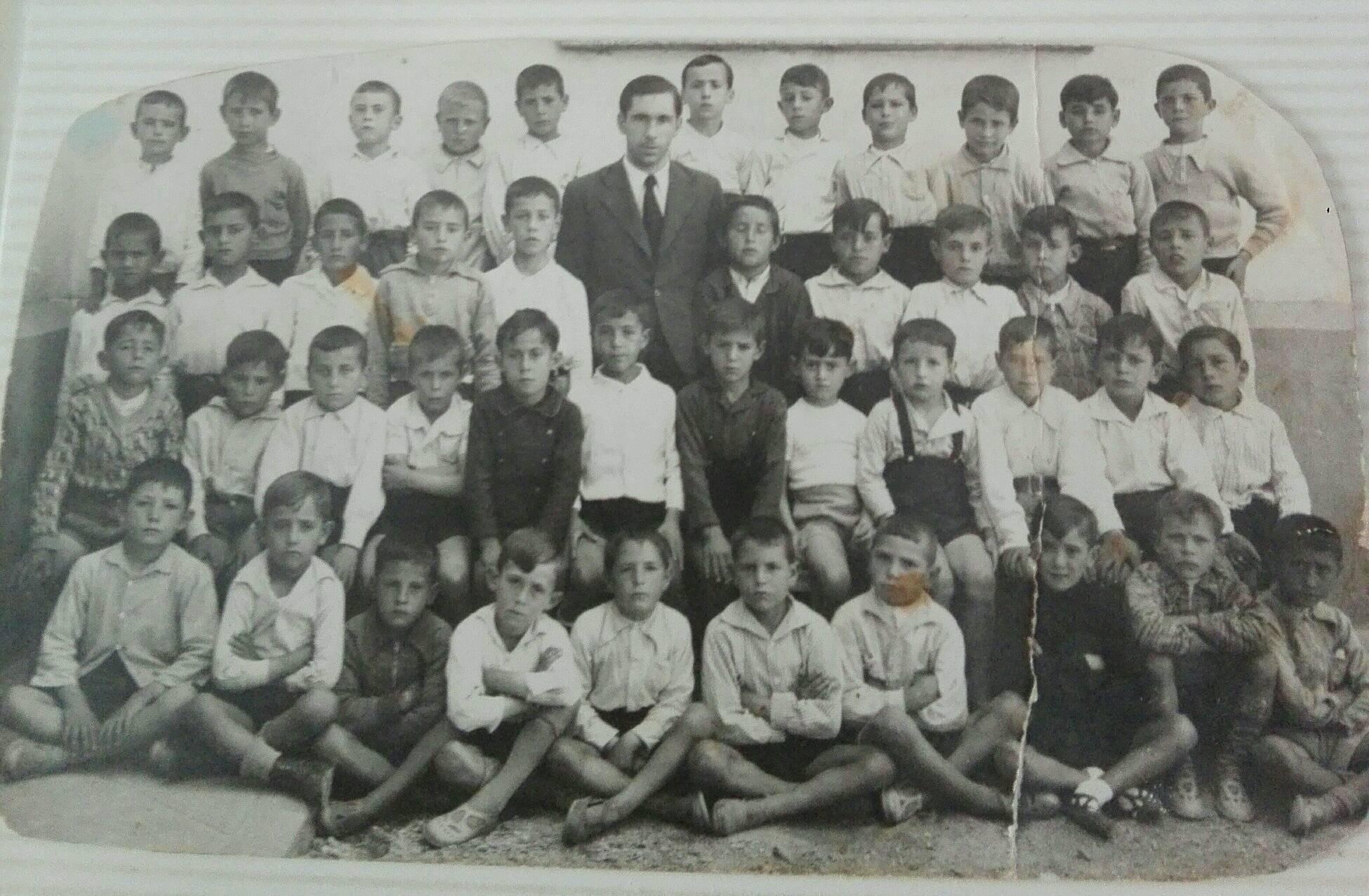 Grupo alumnos - Años 40