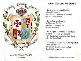 Colegio San Antonio de Padua - Documentos