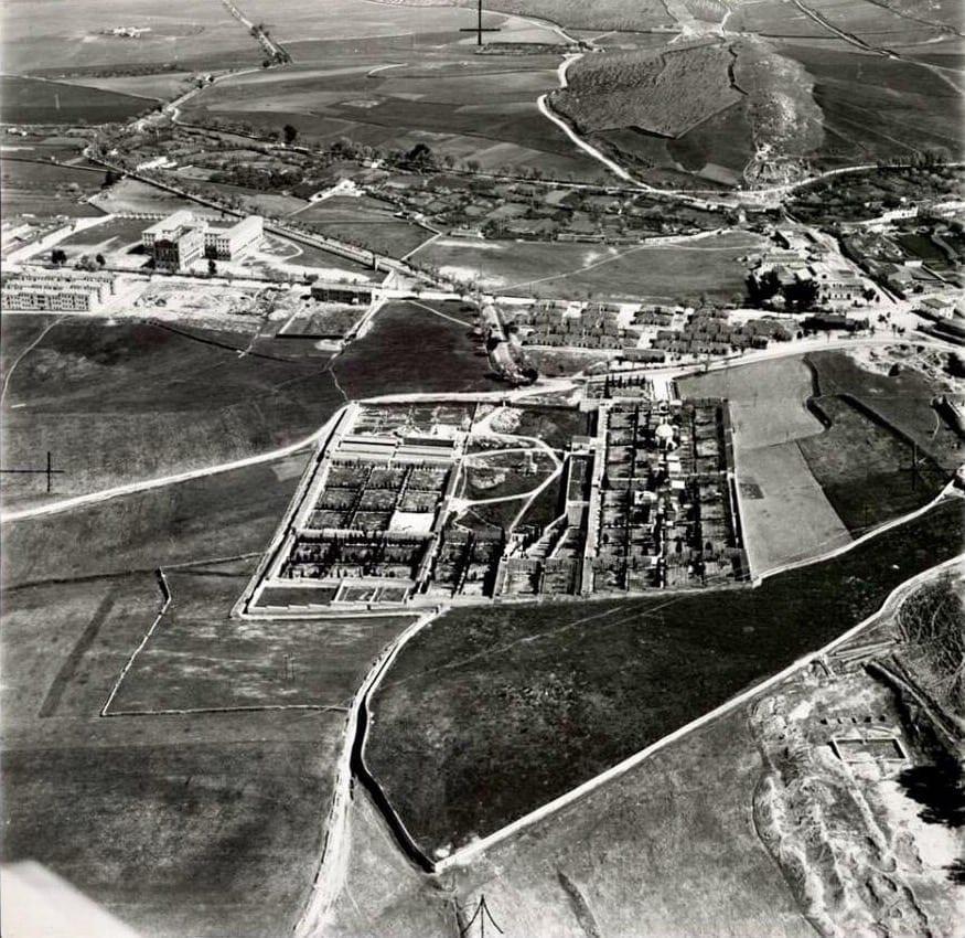 Cementerio en 1958