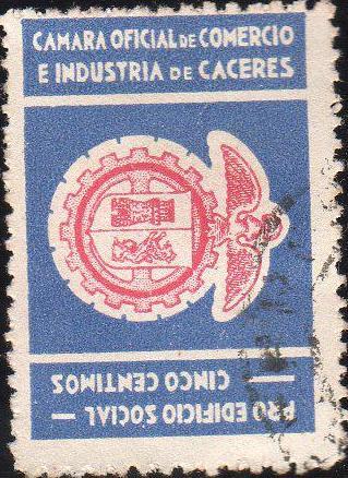 Cáceres - Sellos - Cámara de comercio