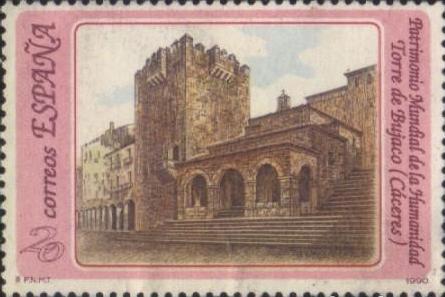 Cáceres - Sellos - Torre de Bujaco