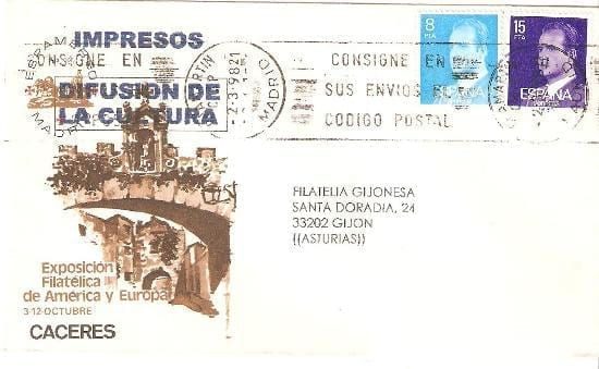 Cáceres - Sellos - Rey Juan Carlos I