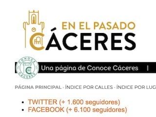 Enlaces de Cáceres