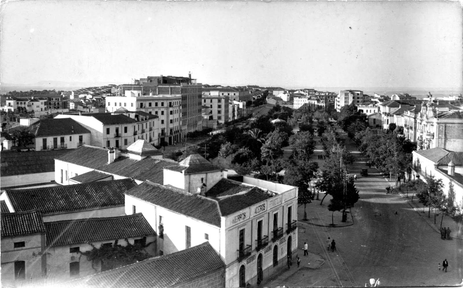 Vista aérea desde edificio Sobrinos de Gabino Diez