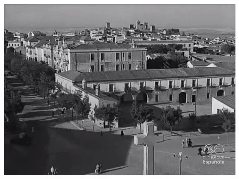 1957 - Vista desde edificio Sobrinos Gabino Diez