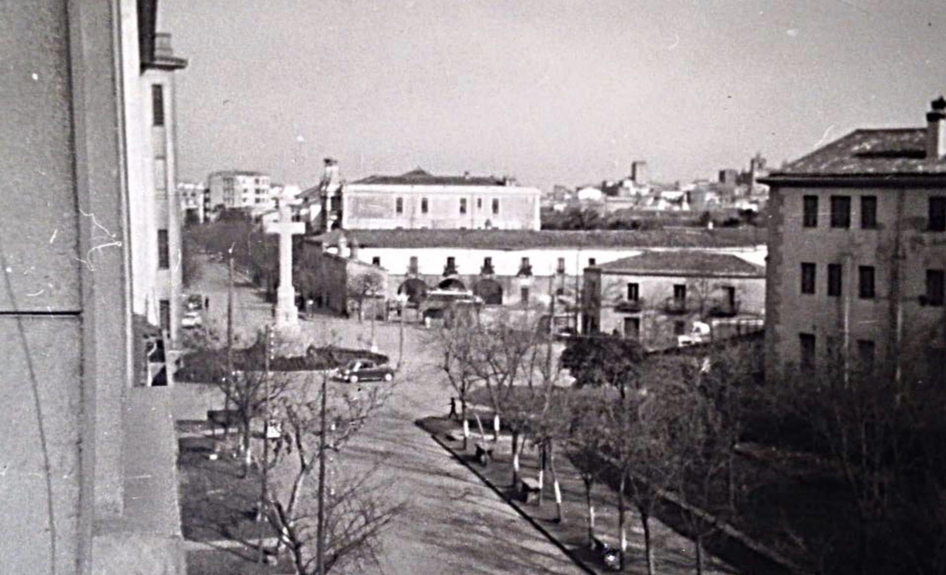 1959 - Parador del Carmen y Cruz de los Caídos