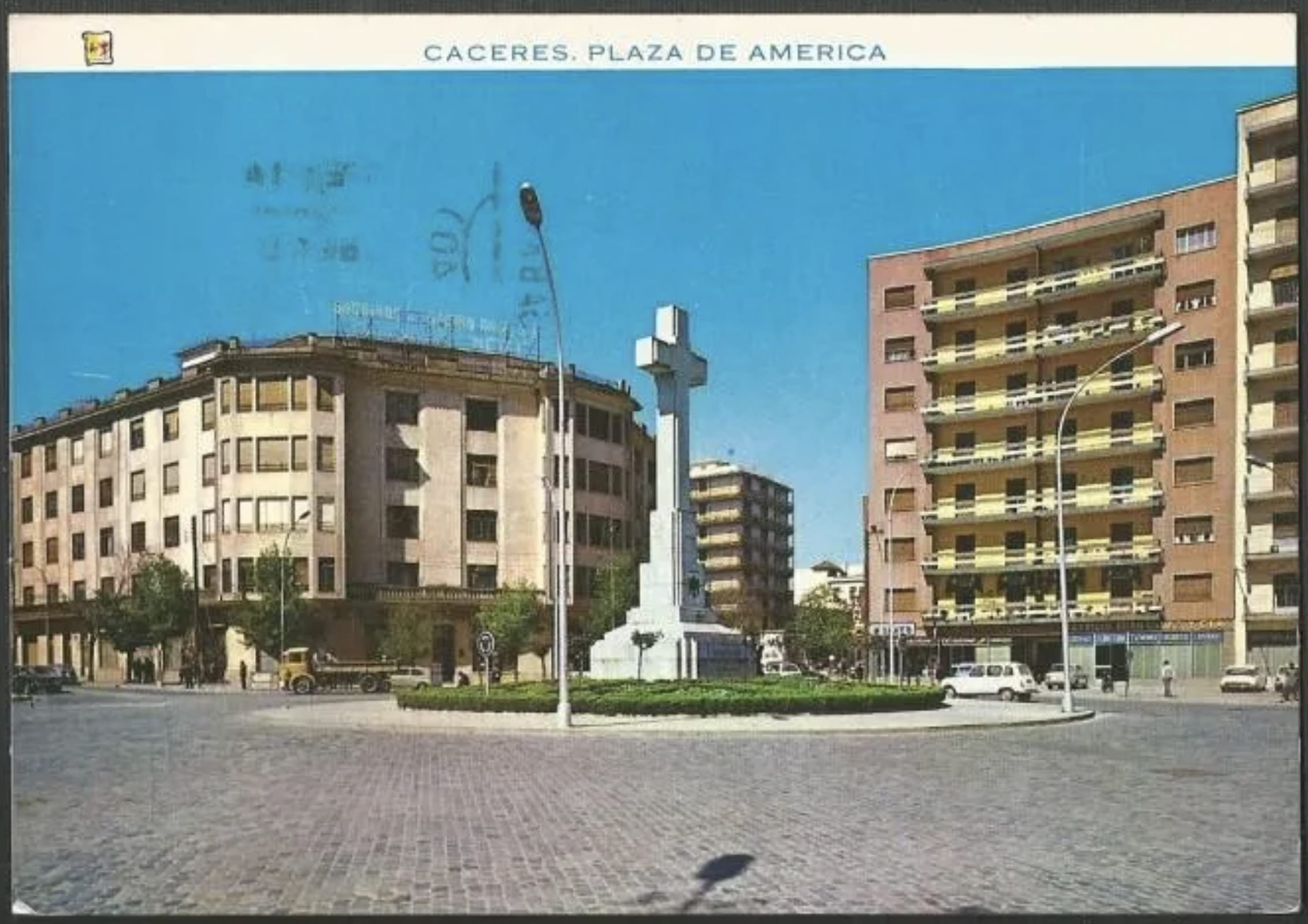 1963 - Postal de la Cruz de los Caídos