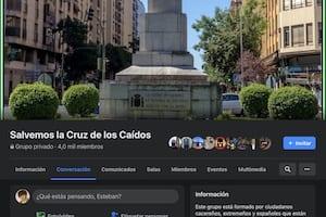 Facebook - Salvemos la Cruz de los Caídos