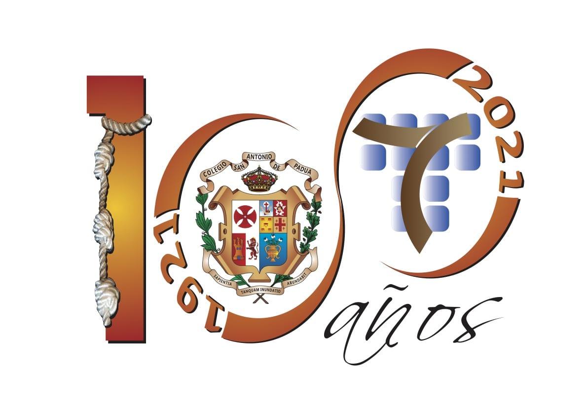 Logo centenario Colegio San Antonio de Padua
