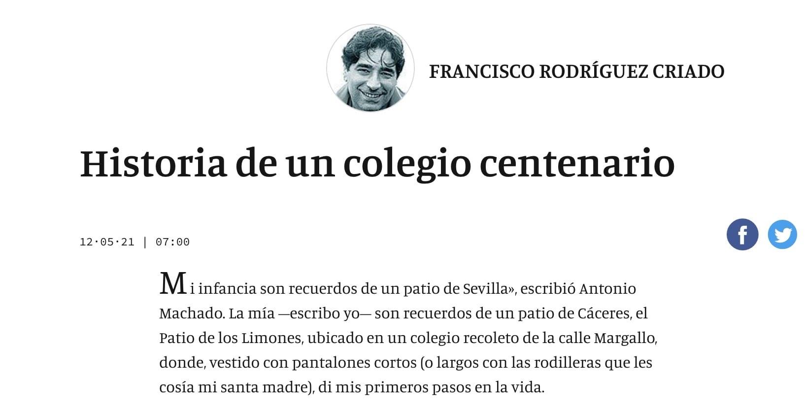 reseña en Extremadura