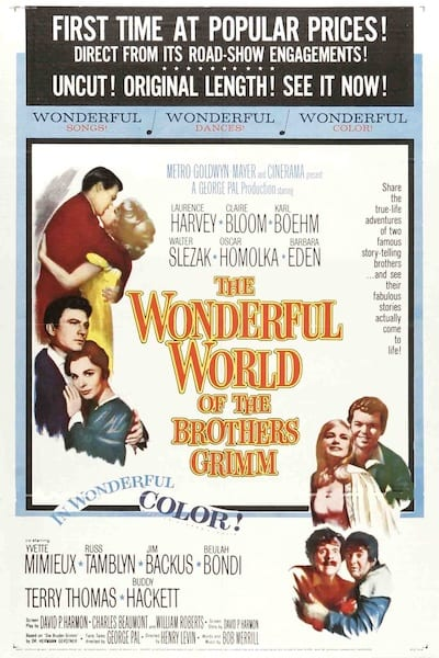 1962 - The Wonderful World of the Brothers Grimm - Yvette Mimieux