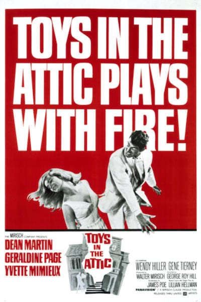 1963 - Toys in the Attic - Yvette Mimieux