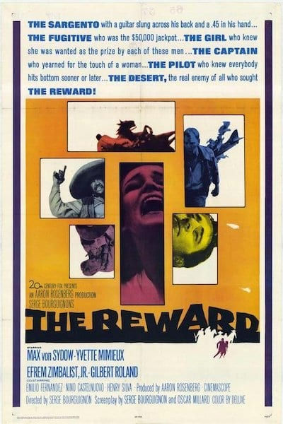 1965 - The Reward - Yvette Mimieux