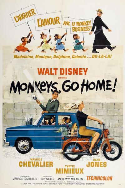 1967 - Monkeys Go Home - Yvette Mimieux