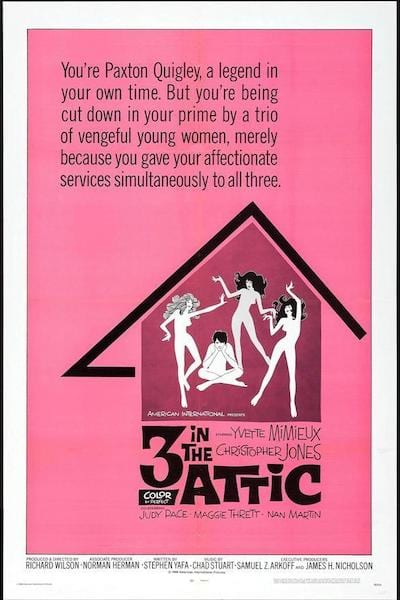 1968 - Three in the Attic - Yvette Mimieux