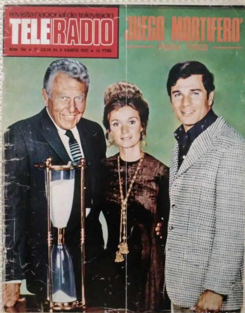 1972 jul Yvette Mimieux teleradio num 762