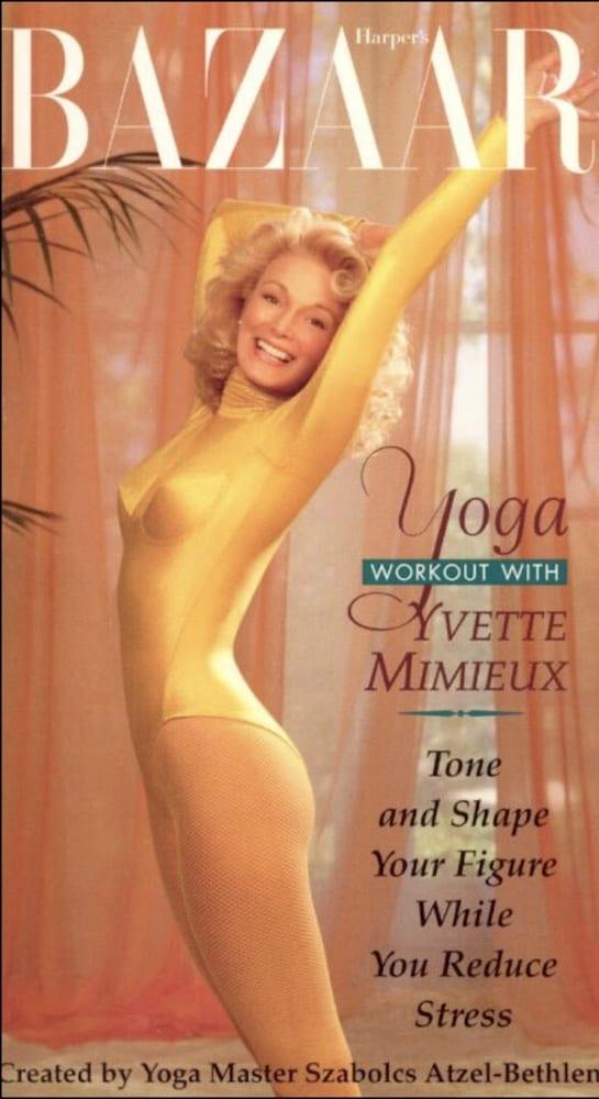1995 - Harpers Bazaar Yoga - Yvette Mimieux