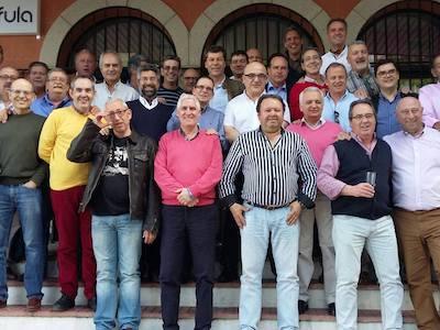 Encuentro en 2016 - Colegio San Antonio de Padua Cáceres